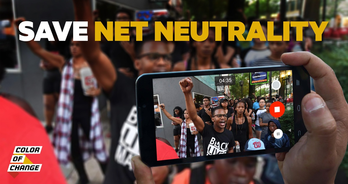 "Color Of Change Responds to Reports that FCC's Pai Will Scrap Net Neutrality: ""This is an attack on 21st century civil rights."""