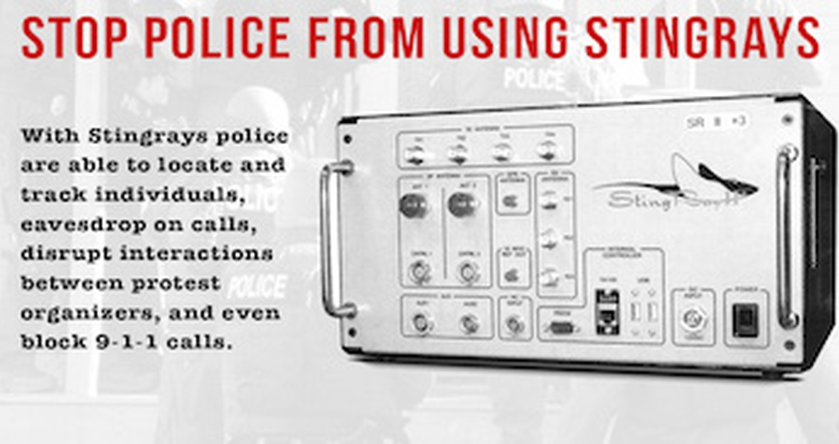 Tell the FCC: No more police Stingray surveillance