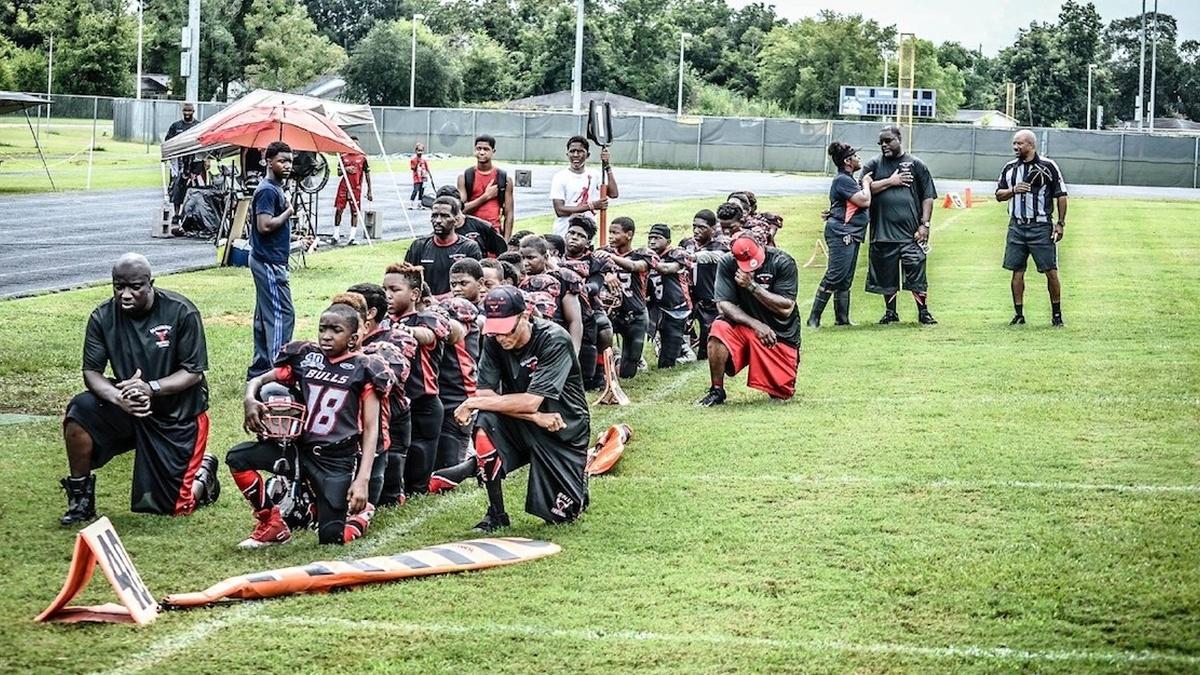 Black Kids Punished for Kneeling
