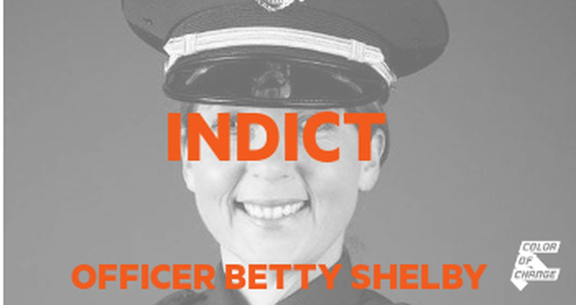 Terence Crutcher died for being Black. Indict Officer Betty Shelby.