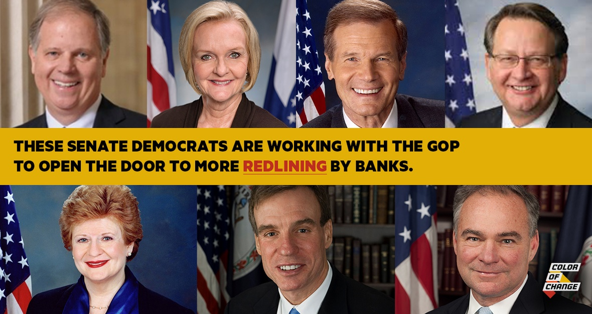 Tell Senate Democrats: Don't Let Banks Discriminate Against Black Consumers
