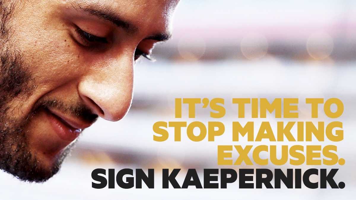 We Stand With Kaepernick