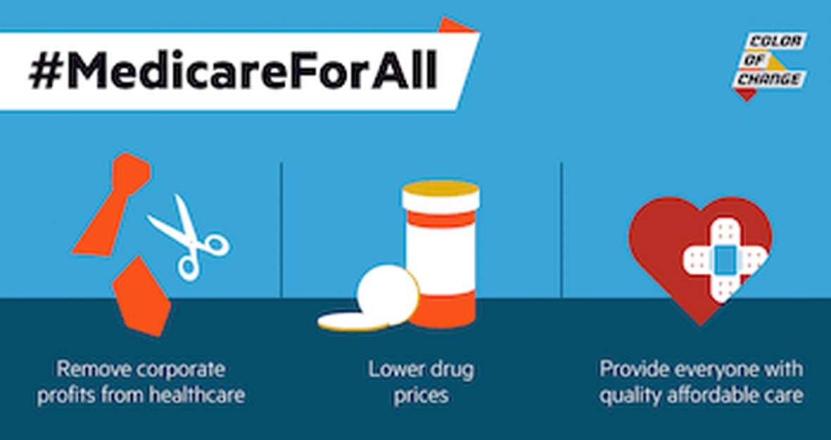 Tell Undecided House Democrats to support #MedicareForAll!