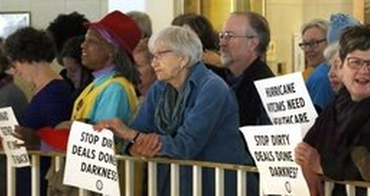 No Power Grab in NC: End the Special Session