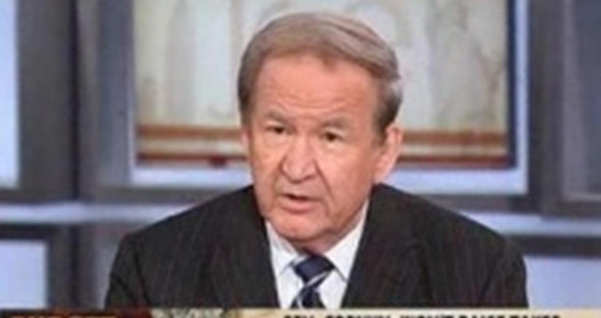 VICTORY: MSNBC Suspends Buchanan Indefinitely