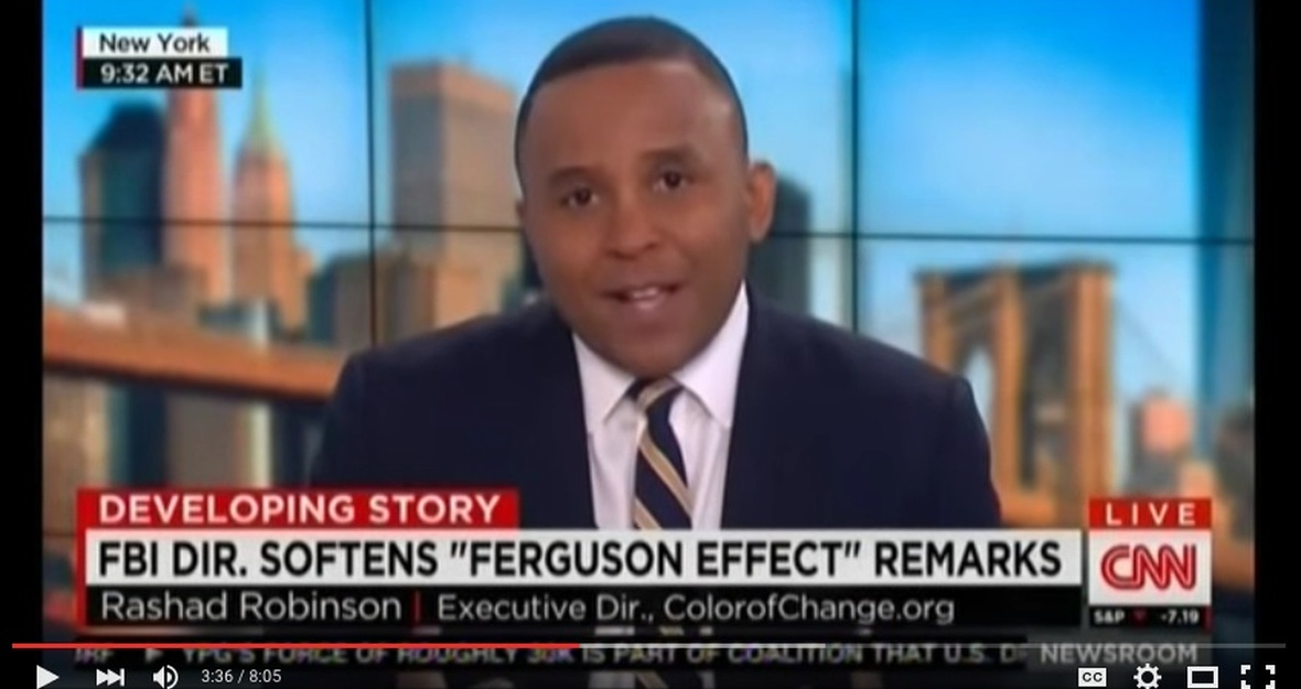 "Rashad Robinson Dispels Myth of ""Ferguson Effect"" on CNN"