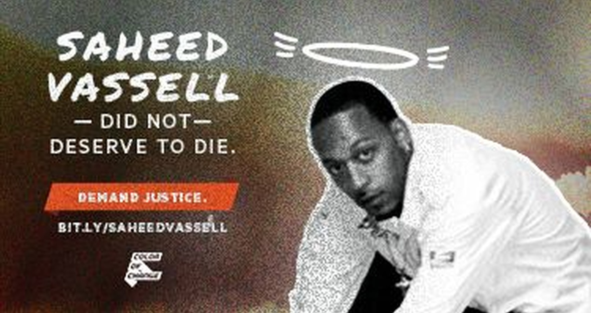 Demand Justice for Saheed Vassell