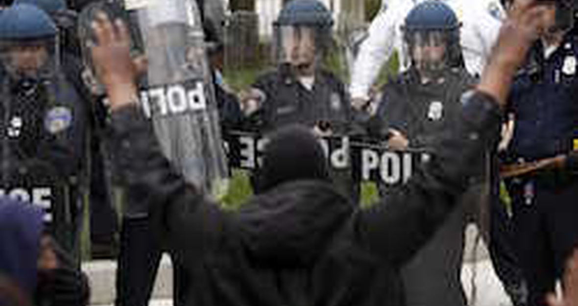 Tell DOJ: Freeze funding for Baltimore Police Department