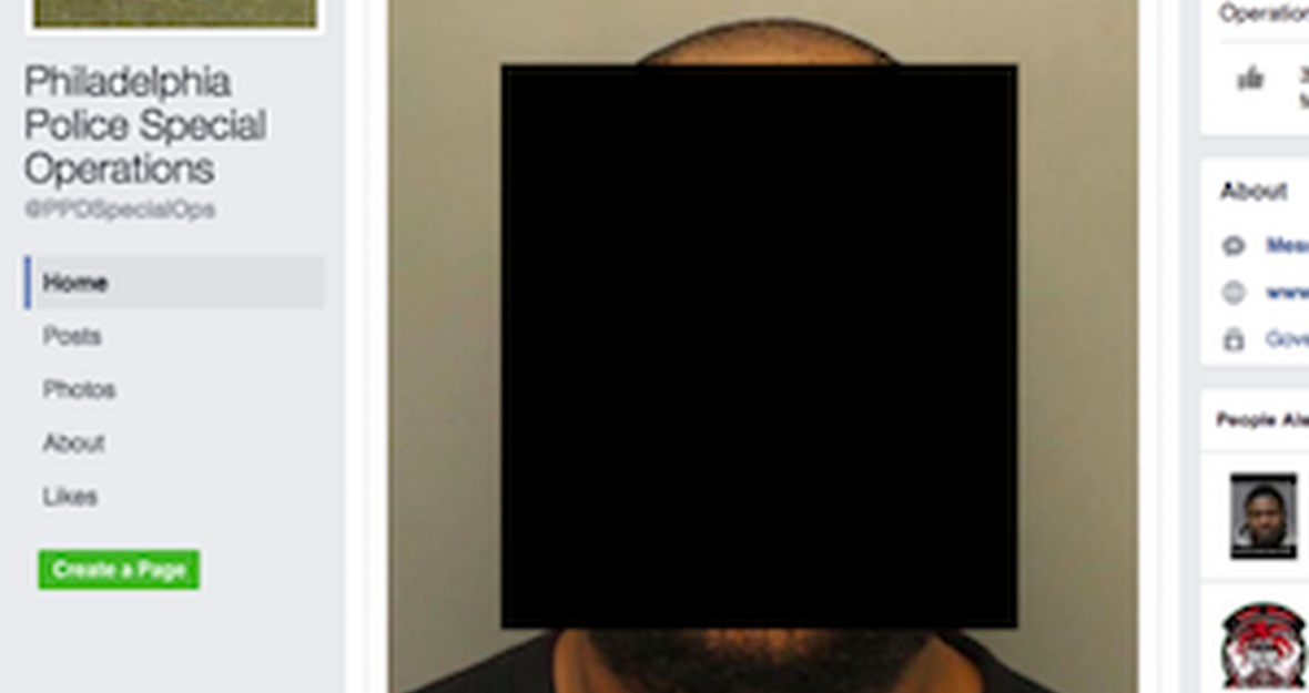 Tell the Philadelphia Police: Stop shaming people by posting mugshots on Facebook