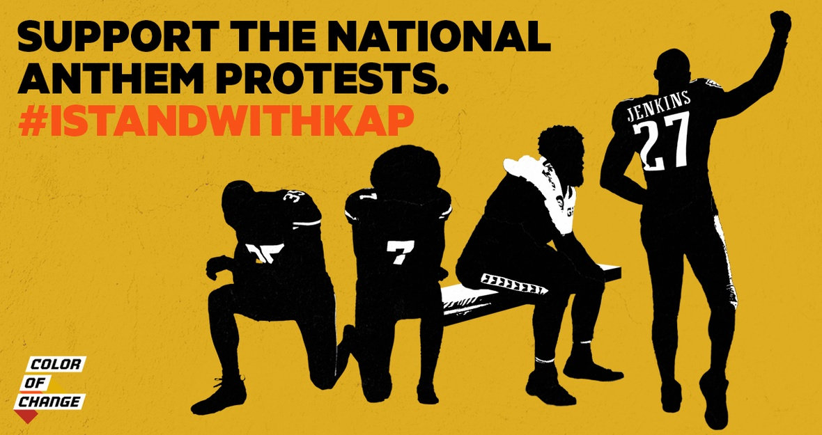Support the National Anthem Protests