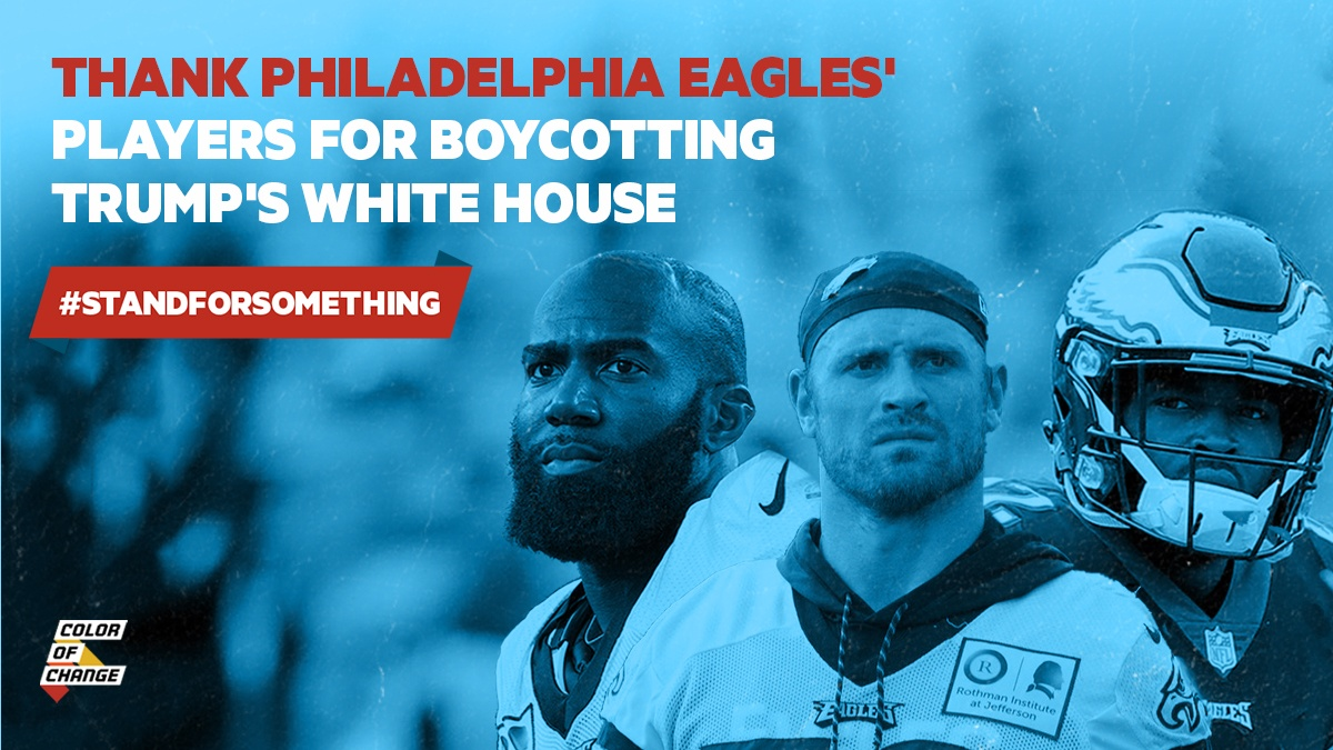 When Eagles Boycott The White House